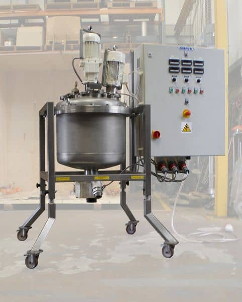 mixing system, Triple Action Disperser
