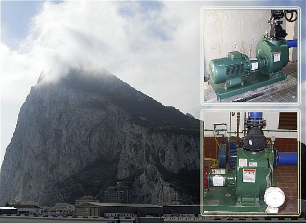 Gibraltar's waste water system