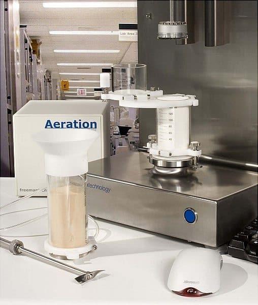company's FT4 powder tester