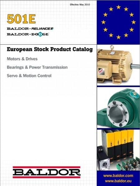 Baldor introduce new catalogue for industrial motors, drives, power  transmission and motion control products - Process Industry Informer