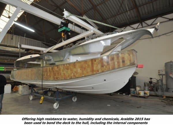 Luxury Motor Cruiser sets the Standard for Marine Bonding