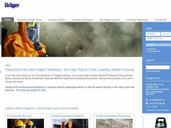 New Draeger Webshop Makes Safety Easier - Process Industry Informer