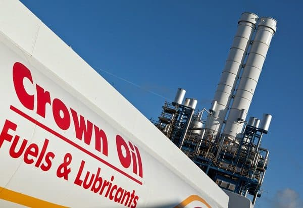 Crown Oil wurde für einen Umweltpreis nominiert