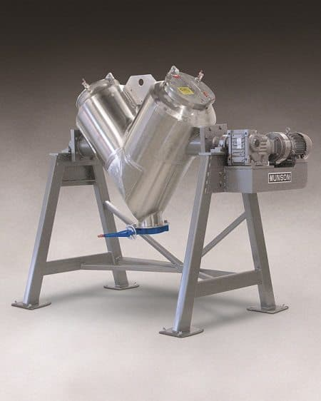 Munson Vee-Cone Blender with 283 litre capacity