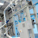 Equipos de separación y dimensionamiento de polvo a granel