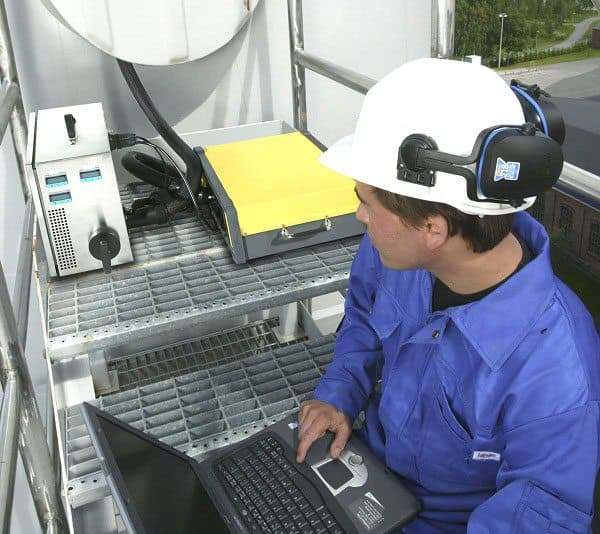 FTIR gas Kontinuerlige Emission Monitoring System