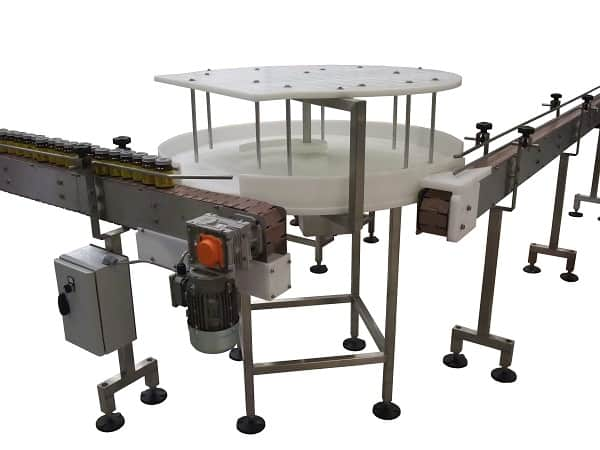 UPM Conveyors new version of their Rotary Table