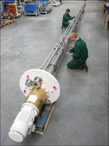 API 610 VS4 vertical sump pump