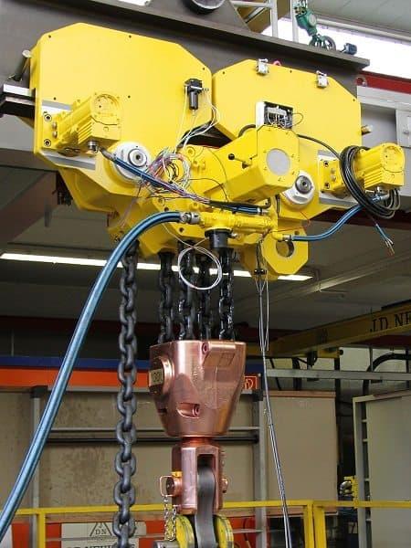 JDN EH 100 compact lifting unit