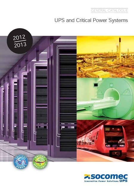 Energy efficient critical power UPS solutions