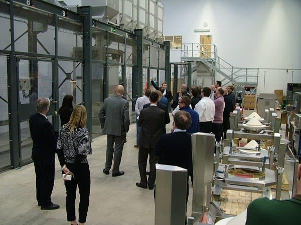 Flexible materials handling solutions using Intermediate Bulk Container (IBC) technology