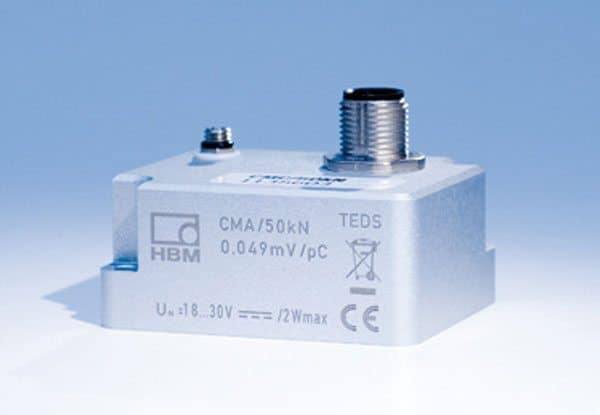 The CMA charge amplifiers for piezoelectric force transducers are now available with additional measuring ranges.