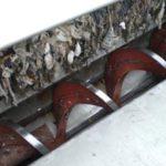 Guttridge без центробежного винта транспортирует бытовые отходы.