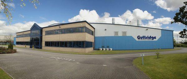 La sede produttiva di Guttridge nel Regno Unito