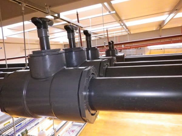Durapipe's pipework system at Armstrong World Industries