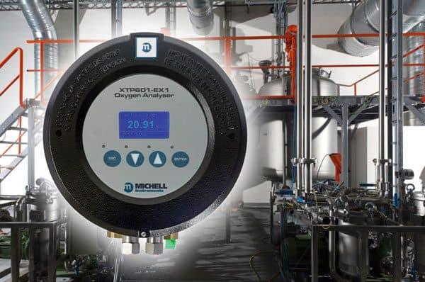 The Michell Instruments XTP601 oxygen sensor
