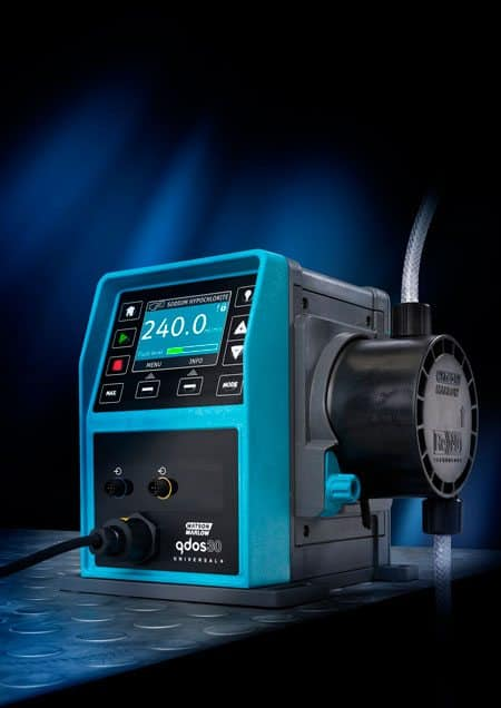 The new new Qdos 30 metering pump