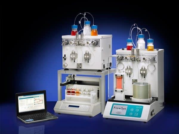 De FlowSyn Continuous Flow Chemistry Systems