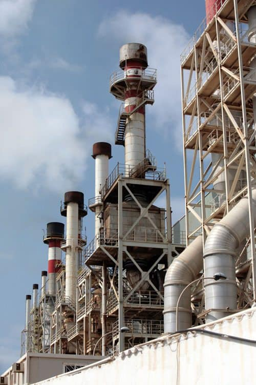 Chemineer's seawater desalination plant in Saudi Arabia