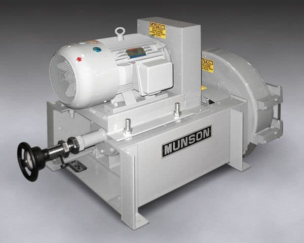 The new Model SK-24-MS Attrition Mill from Munson Machinery