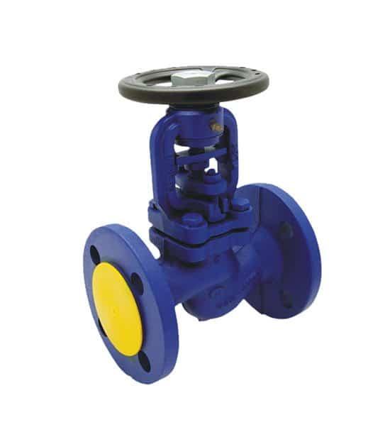 Flow isolating valve