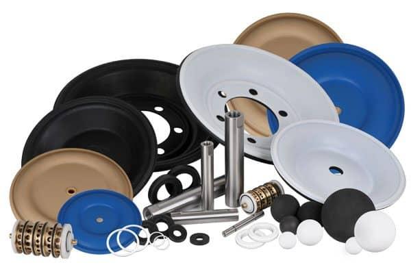 ThinQk, Aftermarket-Teile, Druckluftbetriebene Doppelmembranpumpen