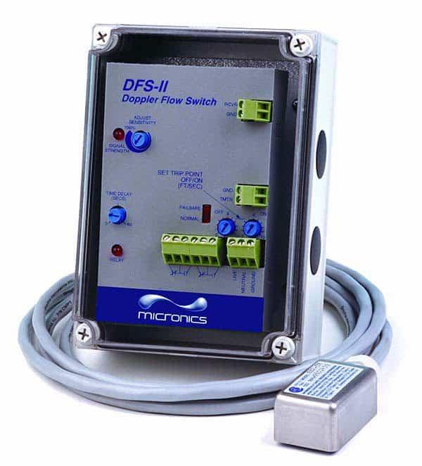 Micronics DFS-ll Doppler Flow Switch