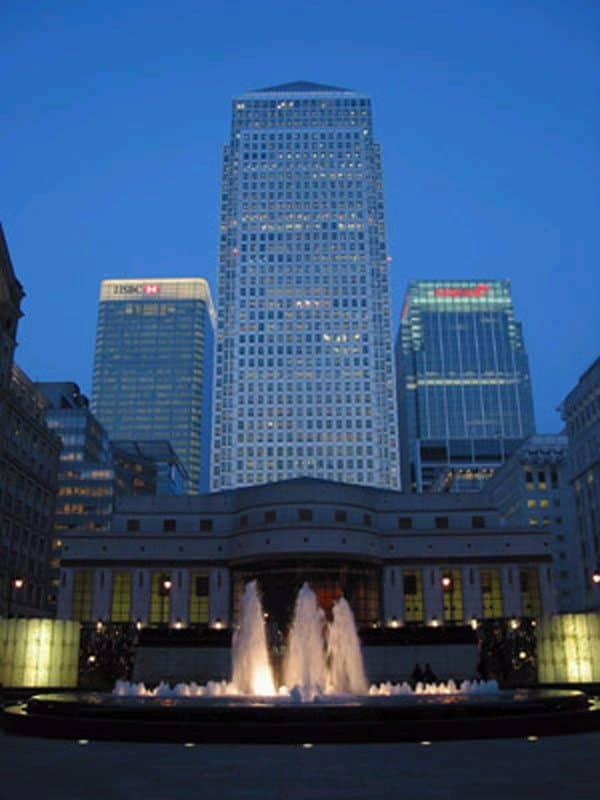 Grundfos Pumps,The HSBC Tower,Canary Wharf