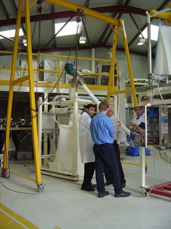 Spiroflow Test Centre Conveyor