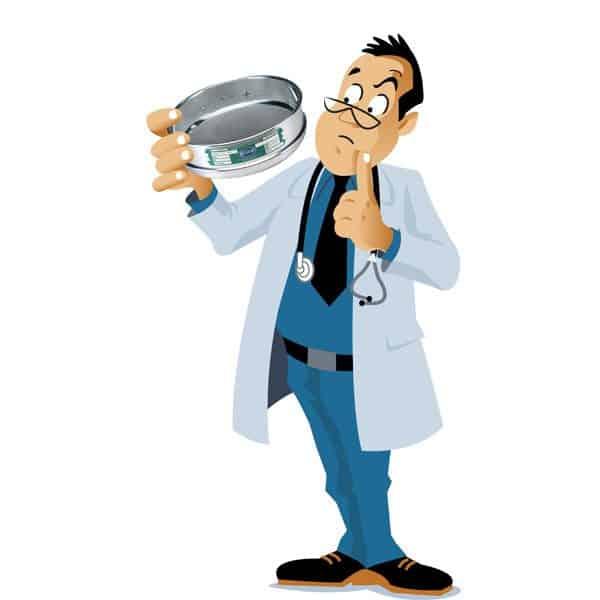 Doctor y tamiz