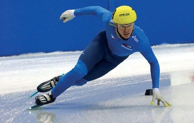 Sportlight on Sochi speed skater