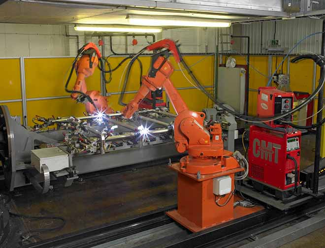 ABB Roboter-Automation
