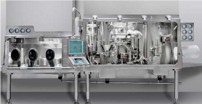 Aseptic Micronizing and Dispensing Isolator