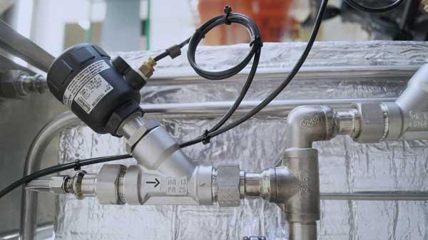 Burkert Typ 2000 Schrägsitz-Dampfauslassventil