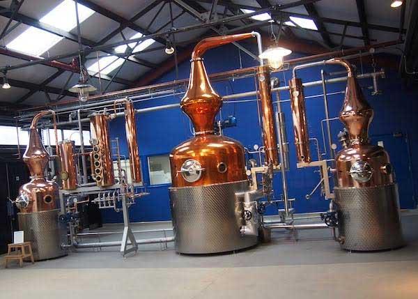Gasbefeuerte Dampfkessel Installation bei Sipsmith Distillery ...