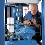 Compressed air maintenance