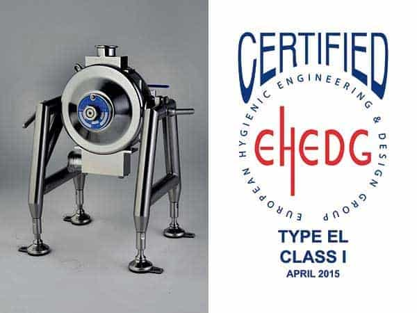 EHEDG Series pump