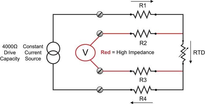 4-wire rtd diagram