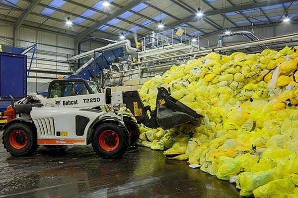 Sacchetti dei rifiuti Knowaste