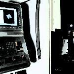 Bedienfeld der CNC-Drehmaschine