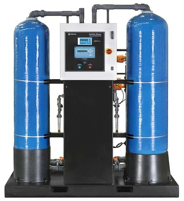 deionised water system