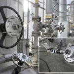 Chemieanlage Ventilantrieb