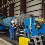 Industrial gas turbine rotor repair