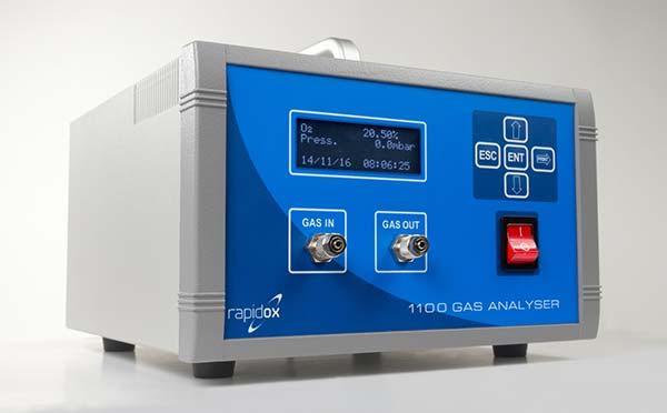 rapidox 1100 analyseur de gaz d'oxygène