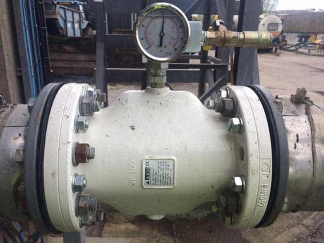 valvola di rilascio della pressione DN100