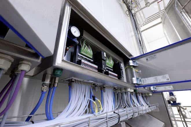 armarios de válvulas de control
