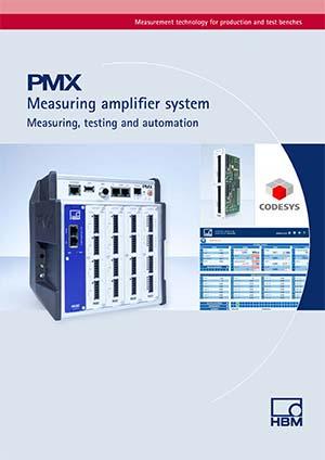 PMX Amplificateur de mesure