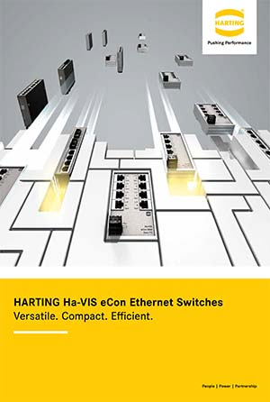 HARTING Ha-VIS eCon Ethernet Switches