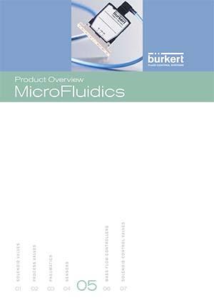 Burkert Visão geral do produto: MicroFluidics