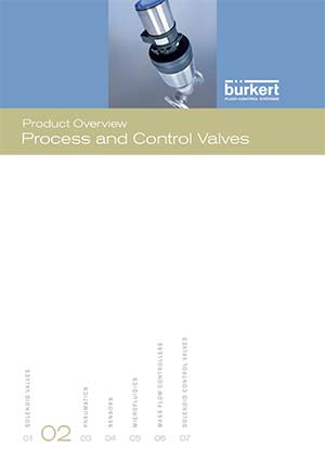 Bürkert Product Overview: Process and Control Valves